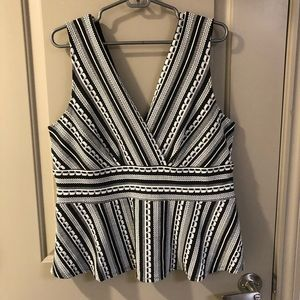 Anthropology business tank top
